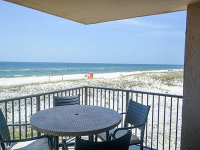 Photo for Gulf front 3 bdrm at Ocean Breeze East 204