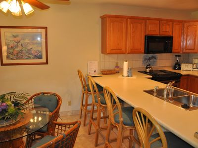 Photo for Very Large Ground Floor 1BR/2BA , Great Location Next to Wailea & Great Beaches