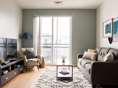 Photo for Sonder | Seaport District | Modern 1BR + Laundry