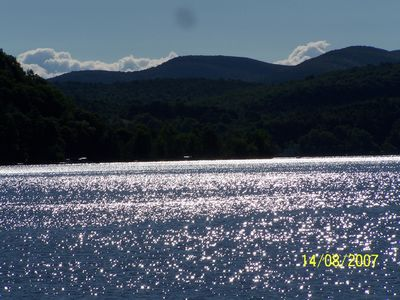 Views of lake are incrediable this is a favorite one.