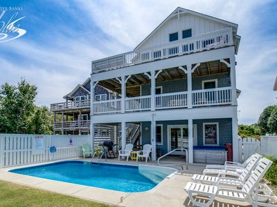 Photo for Pelican Patrol | 897 ft from the beach | Private Pool, Hot Tub
