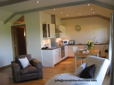 Photo for THE GRANARY, A Cottage for a Couple at Cornish Barn Holidays