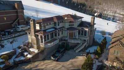 Photo for On Sunset Ski Hill! Luxury Holimont Mountain Mansion Sleeps 18