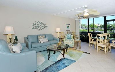 Photo for Firethorn 513 - 2 Bedroom Condo with Private Beach with lounge chairs & umbrella provided, 2 Pools, Fitness Center and Tennis Courts.