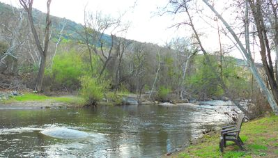 Photo for The River House~Riverfront Retreat~Great Swimming Spot~Close to Sequoia Park