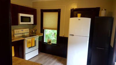 glass top stove and kitchen appliances