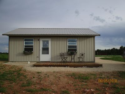 Photo for Brand New Cabin on 35 acres in the Southern Hills!  Bring your horses, ATV.