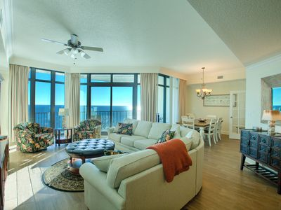 Photo for Fantastic FALL Rates! BOOK NOW*Phoenix WEST 2202 ON BEACH*3BR/4BA Sleeps 12