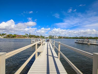 Photo for Private 2Bed/2Bath Siesta Oasis w/ Direct Water View, Near Beach and Bay