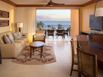 Photo for Maui Luxury Ocean Front Resort Condo Kaanapali Beach Hyatt Residence Club