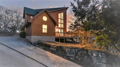 Photo for New listing! Chalet style home overlooking hill country