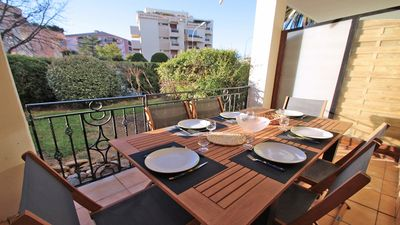 Photo for Apartment T3 - 6 people - Residence swimming pool - Air conditioning - WiFi - Sainte Maxime