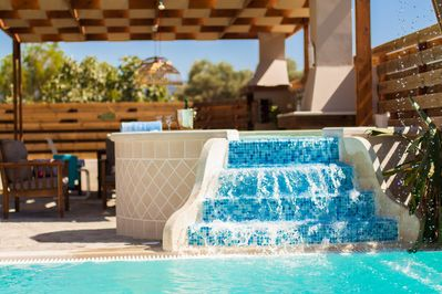 An aspect of the spa whirlpool!