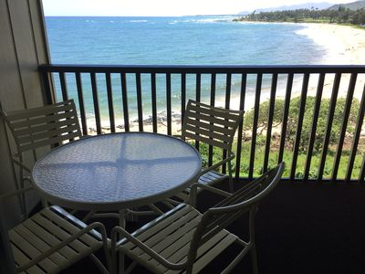 Photo for Up to 20% Off! Beautiful Oceanfront 1BD Condo on Kauai's  Coconut Coast