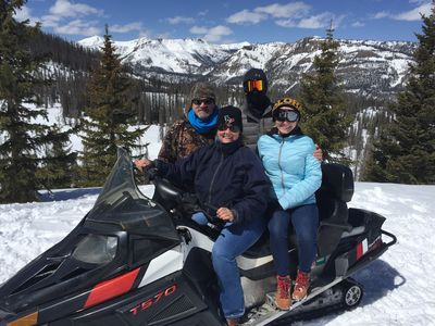 WOLF CREEK SNOWMOBILE TRIP