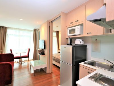 Photo for Condo In Patong Center 12 min Walk To Beach, 6 min To Shopping Mall