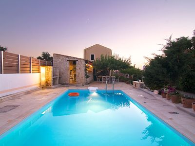 Photo for Villa Mitos - Beautiful Small Villas Just 5 km Away From Rethymno City and Beach