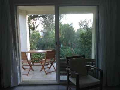 Photo for CALVI T2 46m2 combining beach, city and freshness of a garden