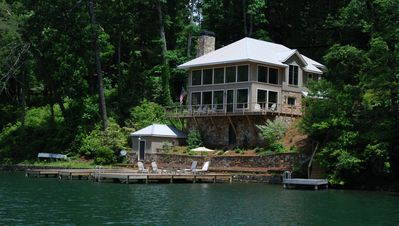 Photo for Directly on the Lake - Indescribable View of the Lake and Surroundings!