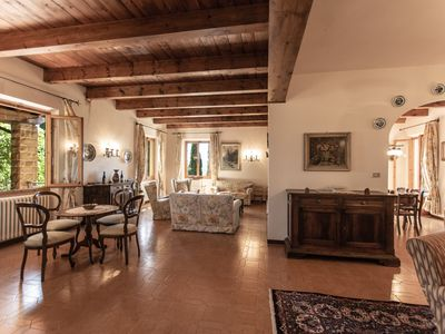 Photo for Villa Torraiolo ideal for families who like to spend their holidays in the countryside