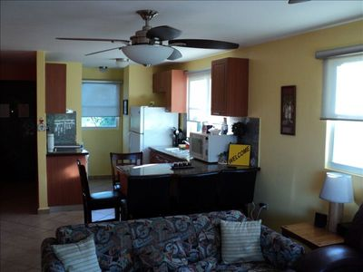 Fully Equipped Kitchen and Laundry Room With A/C