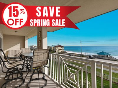 Photo for 15% OFF Now - 5/25/19! GULF VIEW Beach Condo @ Resort! Pool + FREE VIP Perks!