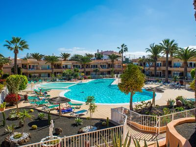 Photo for Corralejo Tropical 3 Dunes Apartment with Pool