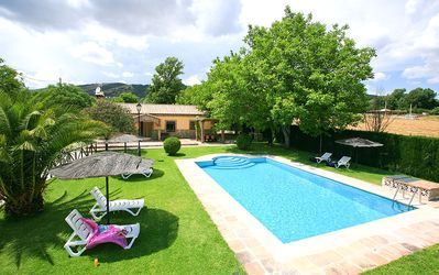 Photo for 3 bedroom Villa, sleeps 6 in Frontones with Pool and WiFi