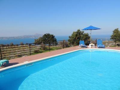 Photo for Beautiful 2 Bedroom Stone Villa With Private Pool And Fantastic Views.