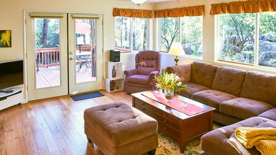 Photo for Modern, Cozy, Family Home in the Pines – Allergy Friendly
