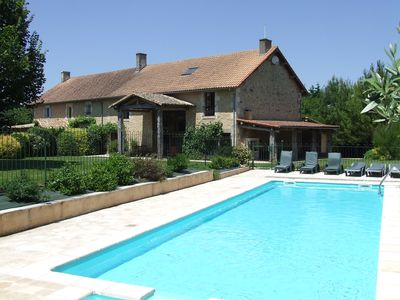 Photo for Spacious Villa with secure private pool, south facing, village location