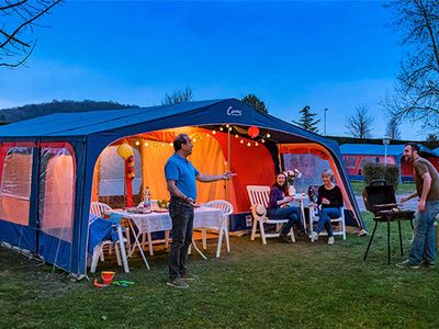 Photo for Camping Domaine des Ormes ***** - Tent 3 rooms 4/5 people Without Bathroom