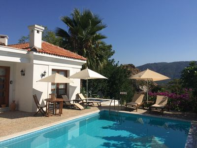 Photo for Banana Valley Villa, private pool and whirlpool, tranquillity, spectacular views