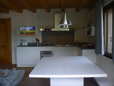 Photo for New apartment with terraces, overlooking the Dolomites a few miles from Cortina rent