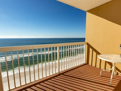 Photo for 20th story condo in Pelican Beach Resort w/gulf views and free WiFI