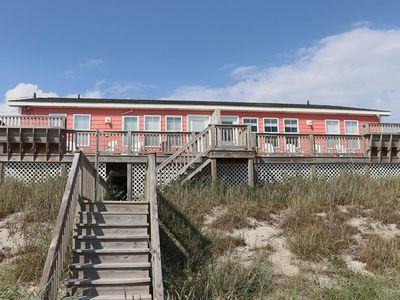 Photo for Oceanfront and dog friendly property in Emerald Isle