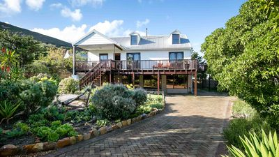 Photo for Beachhouse close to Cape Town with sea and mountain views, garden and pool.