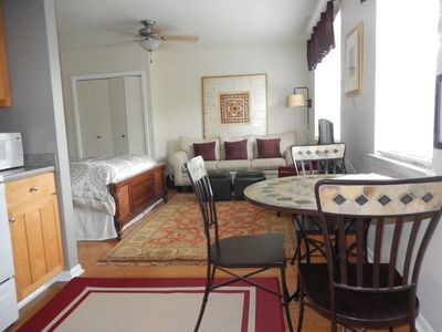 Courtyard Suite - a cozy studio with everything you need for your NOLA stay.