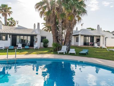 Photo for Beautiful Holiday Home in Residential Complex with Pool, Wi-Fi, Terrace and Lawn; Parking Available