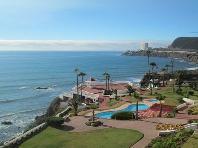 Photo for 2 Ocean Front Patios, Beautiful Gated And Secure Grounds