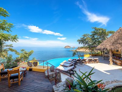 Photo for PRIVATE AND LUXURY OCEANFRONT MANSION- FULL STAFF