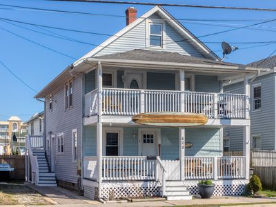 Photo for NEW LISTING! Two-story home near beach w/ furnished decks - dogs welcome!