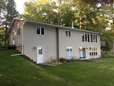 Photo for Waterfront Lake House / Cabin on Crane Lake near Pickerel WI  - see our video!