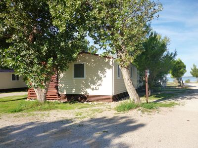 Photo for Mobile home Pisak-directly on the pebble beach (41538-K1) - Seline