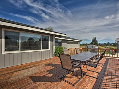 Photo for Updated Farmhouse w/ Deck on Central Oregon Canal!