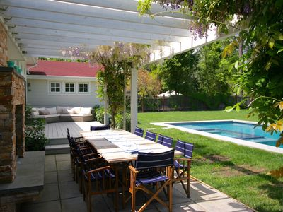 Photo for Wine Country Retreat With Pool & Spa, Walking distance to Sonoma Plaza, 10 Bikes