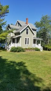 Photo for Historic Seaside Cottage with its own beaches overlooking Penobscot Bay..