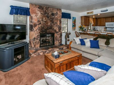 Photo for ~Ski Time Getaway~Walk To Lift Resort Condo~Foosball~Loft~Essentials Included~