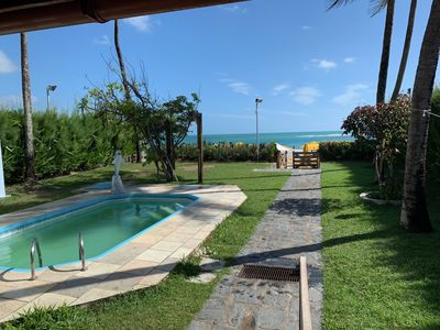 Photo for House waterfront, in front of natural pools, near the center of Porto de Galinhas