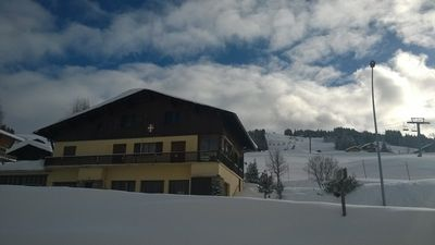 Photo for Chalet 10 people at the foot of the slopes. Wireless